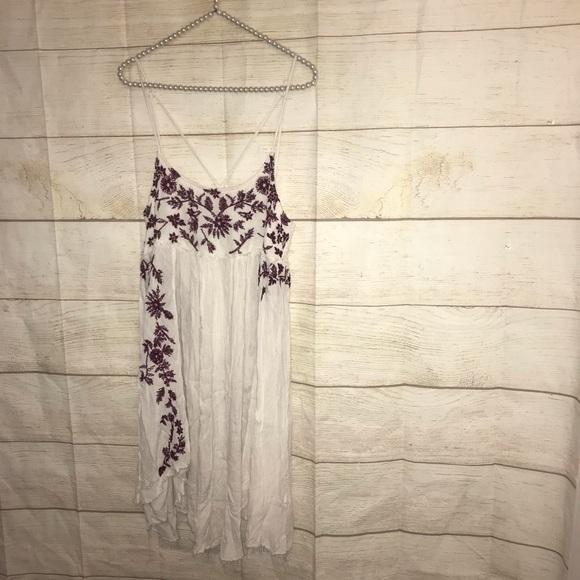 Free people intimately medium embroidered dress